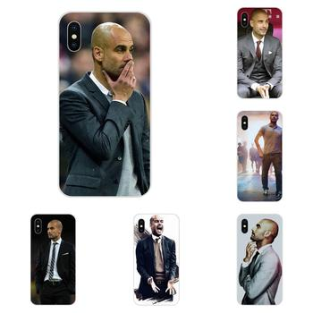 TPU Phone Skin For Galaxy Alpha Note 10 Pro A10 A20 A20E A30 A40 A50 A60 A70 A80 A90 M10 M20 M30 M40 World Famous Pep Guardiola image