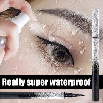 1PC 5D Smooth Waterproof Liquid Eyeliner Black Beauty Eye Makeup Long-lasting Eye Liner Pencil Korean makeup