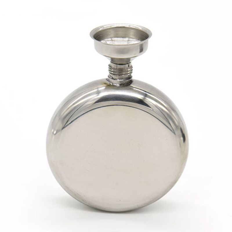 Portable 5o Wine Hip Flask Stainless Steel Mirror Polished Whiskey Wine Bottle Drinkware Alcohol Liquor Pot Gifts Drinkware