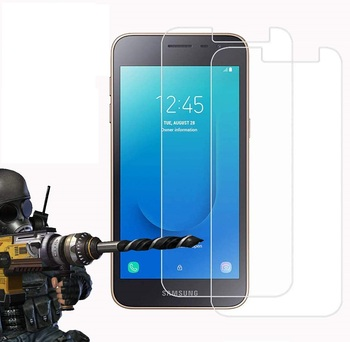 Перейти на Алиэкспресс и купить Закаленное стекло для Samsung Galaxy J2 Core 2020 Glass 9H 2.5D защитная пленка Взрывозащищенная прозрачная защитная пленка для экрана чехол для телефона