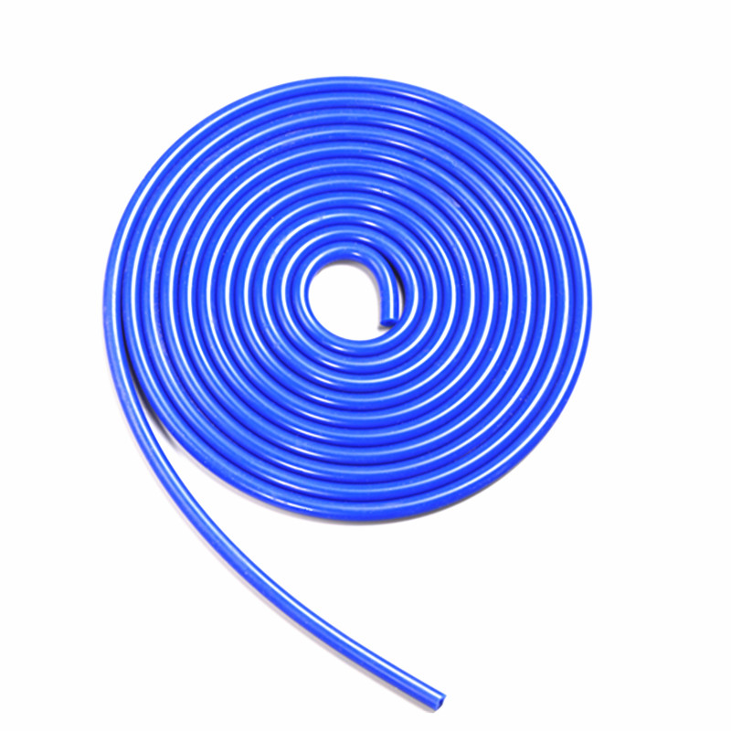 Universal 5M 3mm/4mm/6mm/8mm Silicone Vacuum Tube Hose Silicon Tubing Blue Black Red Yellow Car Accessories image