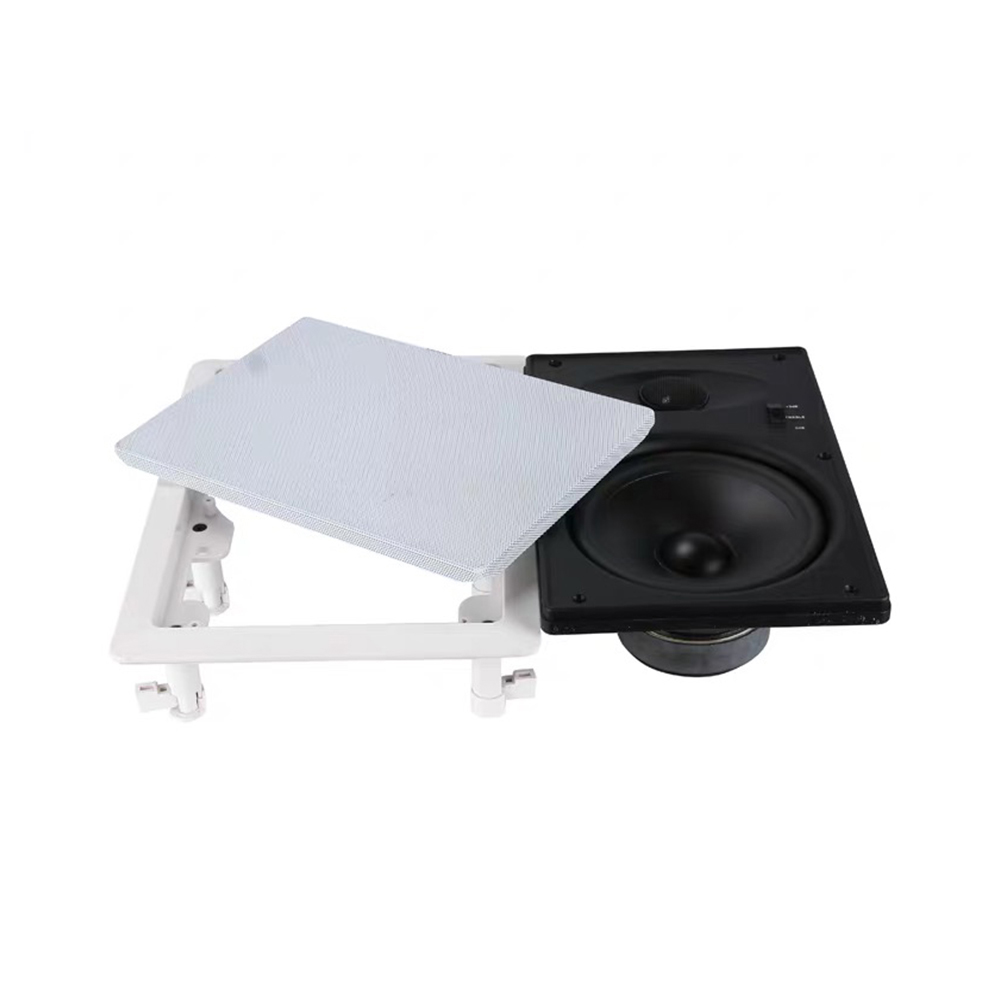 5.25 inch 10-80w square ceiling speaker mounted in home audio background music system Audio Loudspeaker