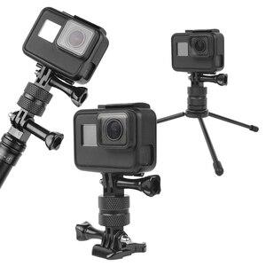 Image 2 - Ruigpro 360度スイベル回転アルミ三脚移動プロヒーロー3 3 + 4 5 6 7 8 9セッション/xiaomi李/sj