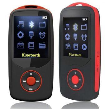Reproductor de MP3 RUIZU X06 4GB/8GB Bluetooth Sport con pantalla de 1,8 pulgadas, grabadora sin pérdidas, reproductor de MP3 FM Hifi E-Book Music