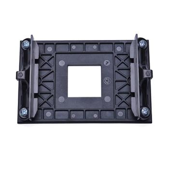 1Pc Plastic CPU Fan Cooler Back Board Radiator Motherboard Mounting Bracket Rack with 4 Screws for AM4 B350 X370 image