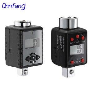 Onnfang динамометрический ключ 0,3-2000 нм 1/2 3/8 1/4 3/4 Регулируемый Профессиональный цифровой дополнительный динамометрический ключ комплект для р...
