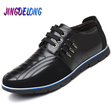 2019 New Men Casual Shoes Summer Autumn Leather Men