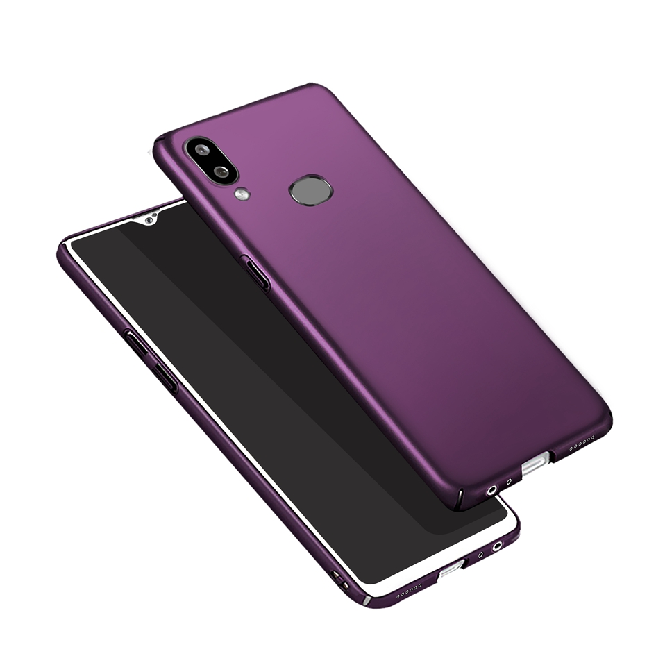 For <font><b>Samsung</b></font> Galaxy <font><b>A10S</b></font> A 10s A107 Case Luxury Hard PC Bumper Matte Full Cover Back Cases For <font><b>Samsung</b></font> <font><b>A10S</b></font> A107F SM-A107F <font><b>Fundas</b></font> image