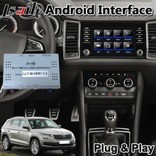 Android Video Interface für Karoq/Kodiaq/Schnelle/Fabia/Superb / Octavia MQB MIB MIB2 system 2014-2019 jahr T7