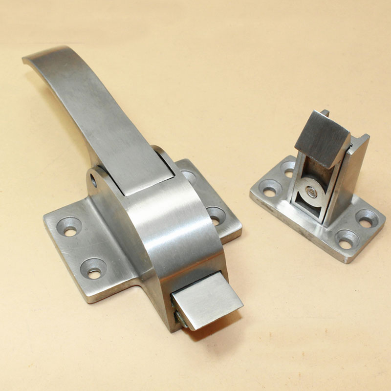 Oven /Cold Storage Door Lock Handle Latch Industrial Stainless Steel Door Handle Lock