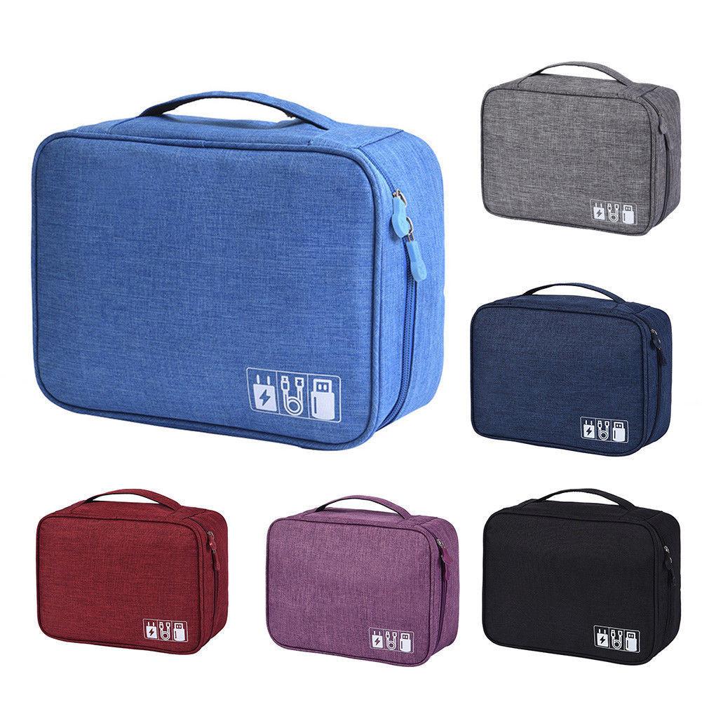 Maximum Supplier Electronics Accessories Organizer Travel Storage Hand Bag Cable USB Case HOT