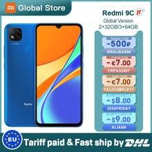 Xiaomi Redmi 9C Mobile-Phone 32GB 13MP New Global-Version Helio G35 5000mah-13mp-Camera