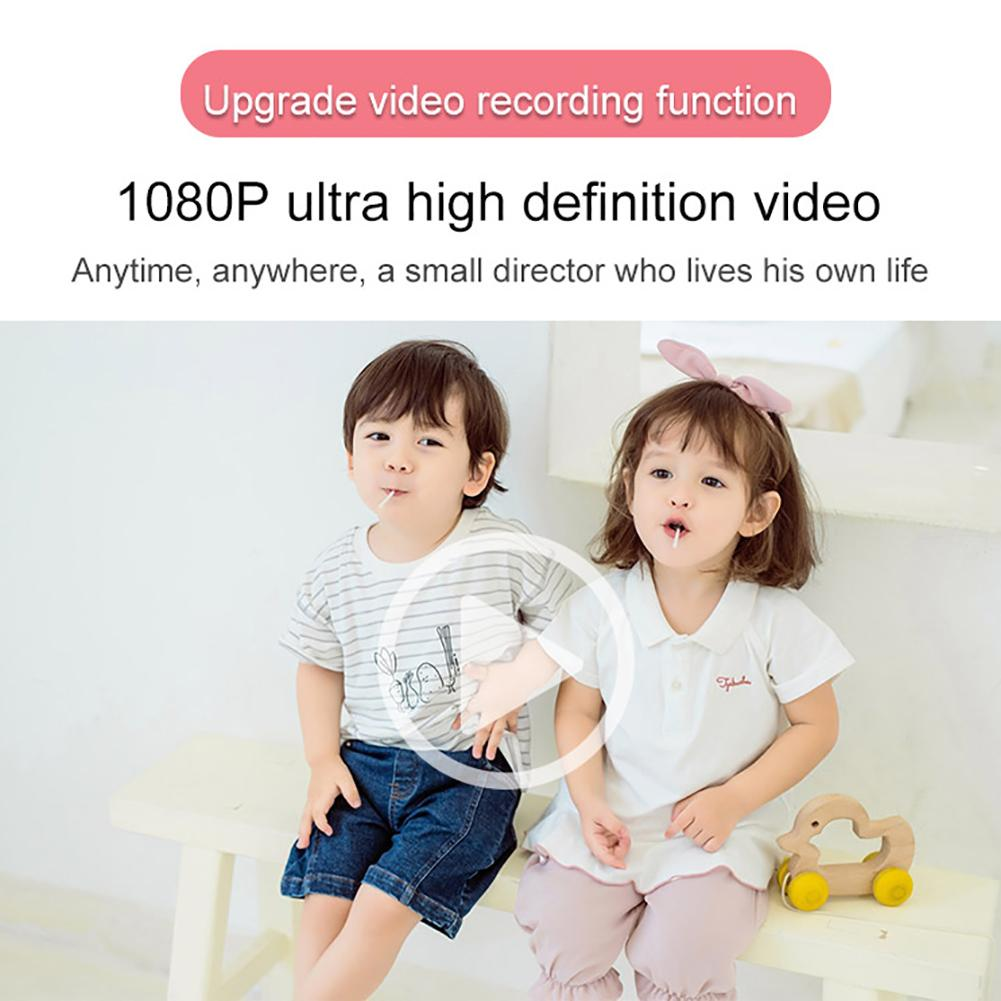 H4ed3a21b83c3451480c1039ba40bfaa1r 2019 Newest Mini WiFi Camera Children Educational Toys For Children Birthday Gifts Digital Camera 1080P Projection Video Camera