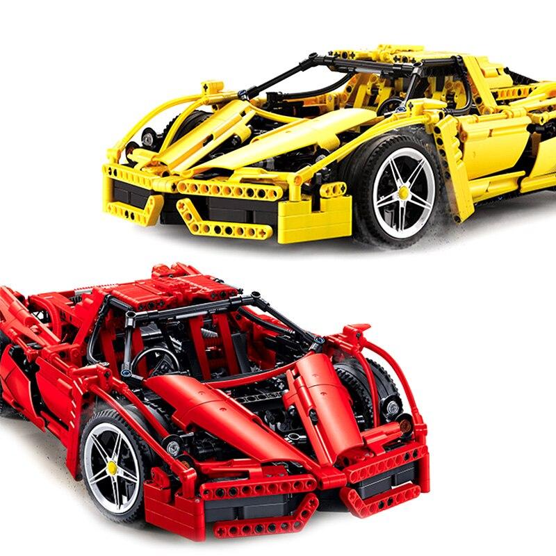 1367pcs Technical Series Car Bugattis Model Building Blocks Bricks  Childrens Toys assembling childrens birthday gift