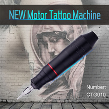 цена на Professional Rotary Tattoo Machine Pen Motor for Liner Shader Tattoo Gun Motor Microblading Aluminum Alloy Tattoo Machine Kit