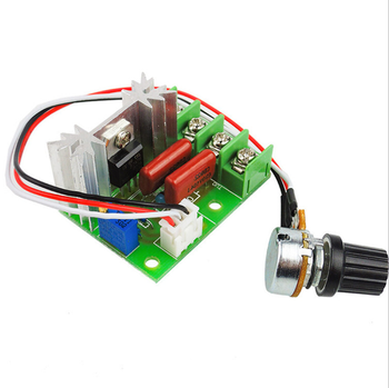 AC 220V 2000W High Power SCR Voltage Regulator Dimming Dimmers Motor Speed Controller Governor Module W/ Potentiometer 2000w scr voltage regulator dimming dimmers motor speed controller thermostat electronic voltage regulator module