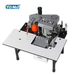 Image 3 - MY50 lavorazione del legno macchina bordatrice portatile in legno PVC Bordo Manuale Bander Doppio Lato Incollaggio 110V/220V 1200W