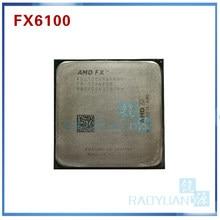Amd fx-series fx6100 3.3 ghz processador de cpu de seis núcleos fx 6100 fd6100wmw6kgu 95 w soquete am3 +