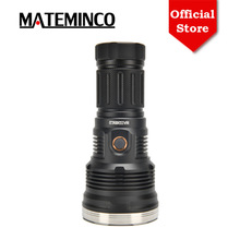 Led Flashlight Hunting SBT90.2 MT90 Long-Range Super-Powerful Camping Mateminco for 6750lm