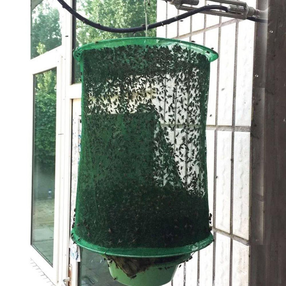 Disposable Fly Print Glue Strong Trap Flies Traps Green Leaf Powder Bugs Sticky Board Catching Aphid Insects Killer *
