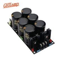 Ghxamp Placa de alimentación de filtro rectificador amplificador, 63 12000UF V, filtro rectificador Schottky de alta potencia, placa de potencia para AMP 1pc