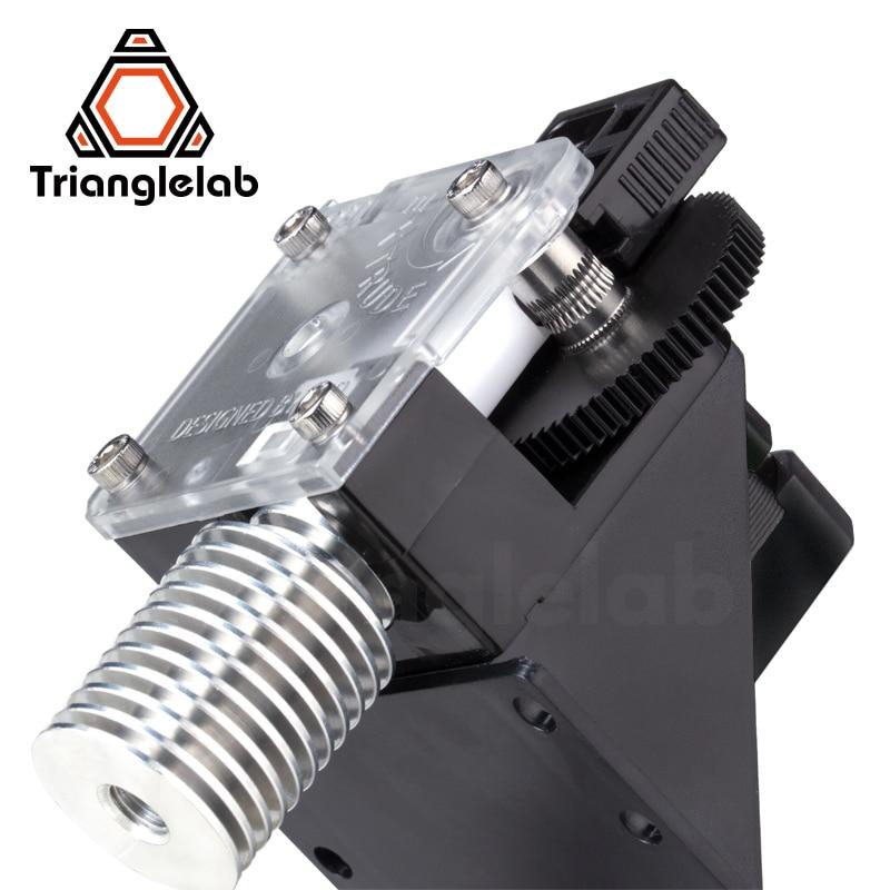 trianglelab extrusora para impressora 3d titan para desktop impressora fdm reprap mk8 j head bowden frete