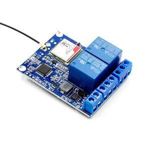 Image 3 - 2 kanal röle modülü SMS GSM uzaktan kumanda anahtarı SIM800C STM32F103C8T6 sera oksijen pompası için