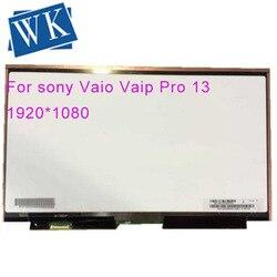 Darmowa wysyłka dla Sony SVP132 VVX13F009G00 Martrix lcd do laptopa wyświetlacz led IPS matowy eDP 30PIN w Ekrany LCD do laptopów od Komputer i biuro na