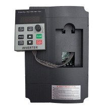 Convertidor de frecuencia de XSY-AT1 inversor VFD 1.5KW/2.2KW/4KW monofásica entrada y salida de 3-220V controlador de velocidad del Motor
