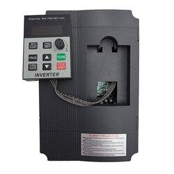 VFD 1.5kKW/2.2KW/4KW العاكس XSY-AT1 محول تردد مرحلة واحدة 220 فولت المدخلات و 3 مراحل الناتج موتور سرعة المراقب المالي