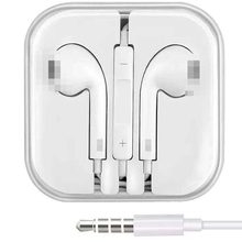 3.5MM Wired Control Earphones HiFi Headphones With Mic Stereo Sound Headset