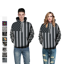 2019 New Sweatshirt Men/Women Hoodies Painting 3D Digital printing fashion pullover Loose lovers