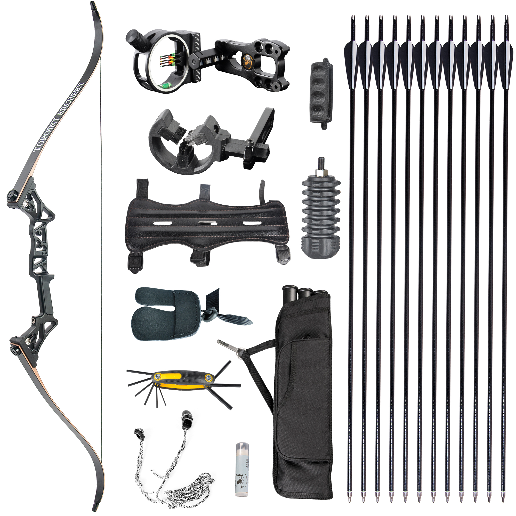 Topoint Recurve Bow Package 1