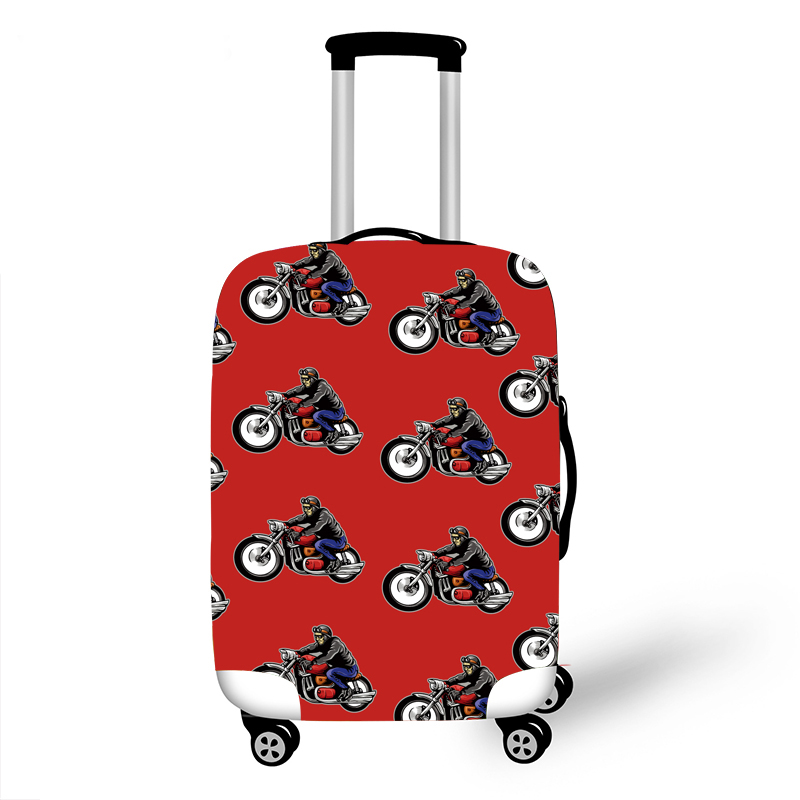 Elastic Luggage Protective Cover Case For Suitcase Protective Cover Trolley Cases Covers 3DTravel Accessories Racing Car Pattern