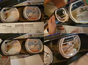 Image 2 - RF a distanza Bluetooth APP Multi Color Ultra luminosa RGB LED Fari Alogeni Di Profondità kit per Toyota Chaser JZX100 1996 1997 1998 1999 2000 2001