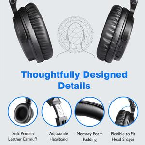 Image 5 - Oneodio Bluetooth Wireless Headphones With Microphone 80H Play Time Foldable Over Ear Bluetooth 5.0 Headset For Mobile Phone PC