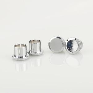 Image 5 - Hi End Brass Noise Stopper Rhodium Plated Copper RCA Plug Caps
