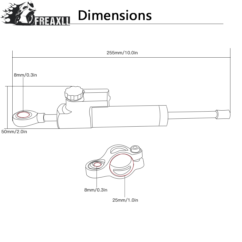 Moto CNC Motorcycle Steering Damper Stabilizer Linear Reversed Safety Control Over For HONDA CBR929RR CBR929 RR CBR 929 RR 2000 in Covers Ornamental Mouldings from Automobiles Motorcycles