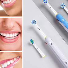 Electric-Toothbrush-Heads Replaceable Teeth-Brush Oral-B for Rotary 4pc/Pack