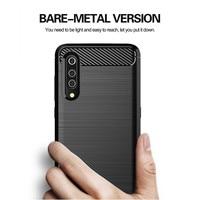 Nieuwe Carbon Fiber Case Voor Xiao Mi Mi CC9E CC9 Pro A1 A2 A3 Lite Case Mi Note 10 Rood mi Note 8 7 6 Pro Cover Zachte Siliconen Gevallen