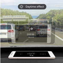10 pieces 12cm*9cm Reflective Film for GPS HUD Automobile Head Up Display Car Windshield Projector Accessories