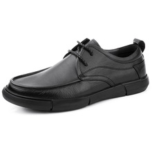 osco 2018 spring summer men shoes youth business british black casual genuine leather breathable dress office shoes men oxford Soft Bottom British High Quality Genuine Leather Breathable Business Casual Shoes Driving Shoes Men designer shoes men spring