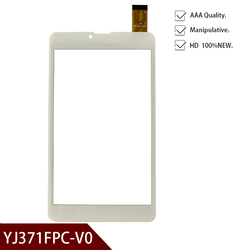 Free shipping 7'' inch touch screen,New fo YJ371FPC-V0 <font><b>BQ</b></font> 7022G <font><b>7010g</b></font> <font><b>BQ</b></font>-7022G <font><b>BQ</b></font>-<font><b>7010g</b></font> <font><b>Max</b></font> 3G Tablet Touch Screen panel image
