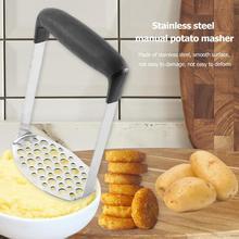 Ручной из нержавеющей стали картофельный Ил-пресс Ricers Овощной Фрукты кухонный аксессуар пресс-пресс инструменты для приготовления пищи кухонный гаджет