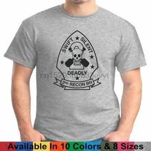 2nd reconhecimento usmc eua marines t camisa