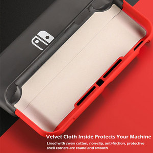 Image 3 - Switch Lite Protective Case Bag Magnetic Buckle Grip Case PC Hard Back Cover Shell For Nintendo Switch Lite Game Accessories