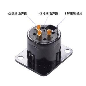 Image 5 - 2pcs NEUTRIK XLR Female Male Chassis Panel Socket For CD Amplifier