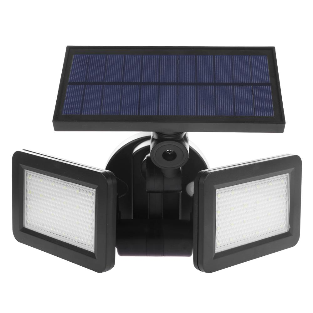 48led Dual Head Solar Light Radar