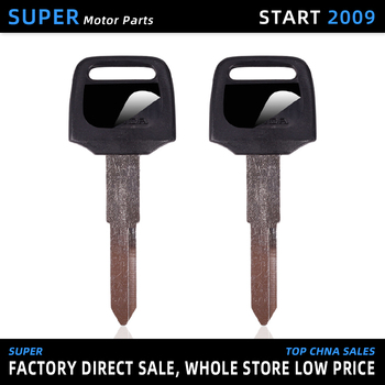 Brand New Motorcycle Replacement Key Uncut For HONDA CBR250RR CBR400 RR CBR250 NC14 NC17 NC19 NC22 NC23 NC29 NSR250 CB-1 CB400 image