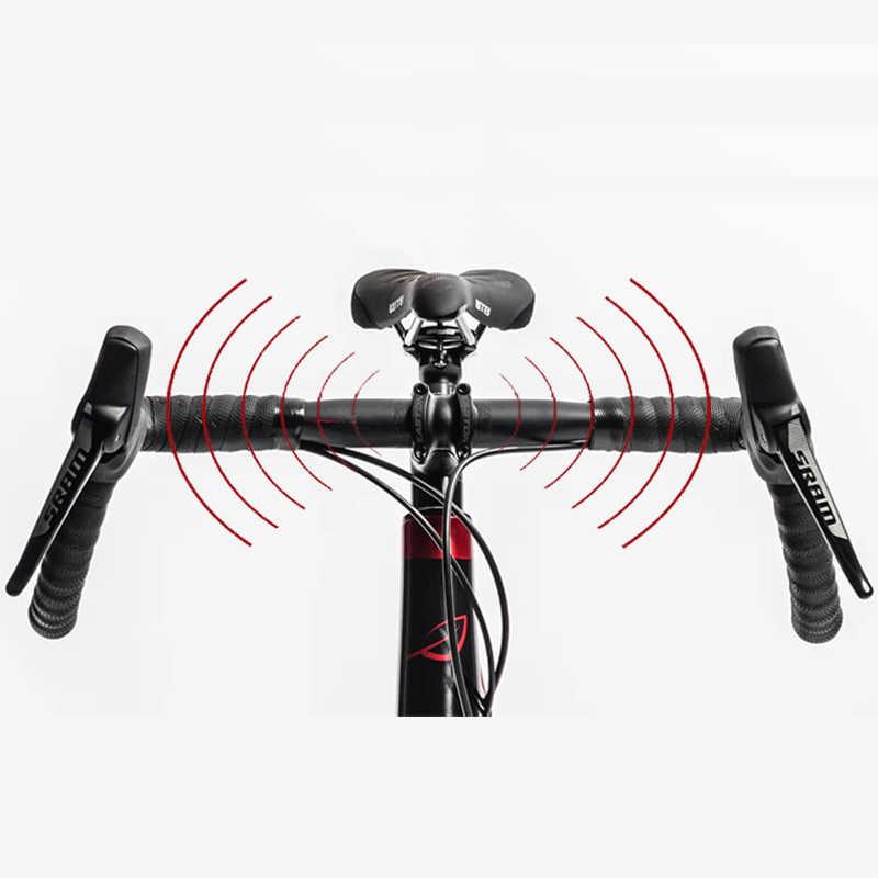 2020 ZNIINO yeni karbon çakıl gidon büyük parlama Bar döngüsü çapraz yol bisikleti gidon 400/420/440mm karbon fiber bisiklet